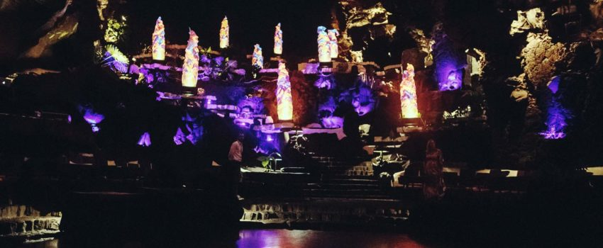 Decoration lighting event party dance floor cave water - Decoracion iluminacion evento fiesta pista de baile cueva del agua