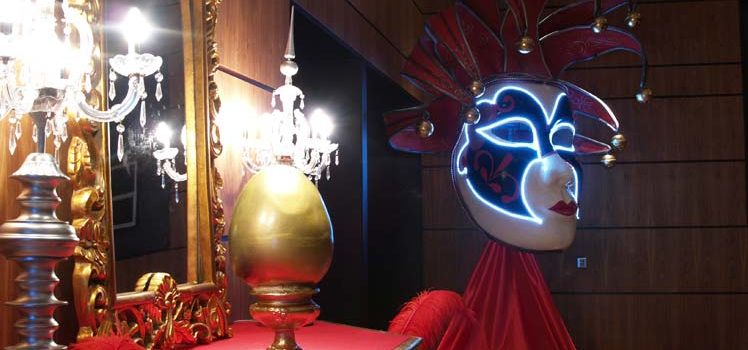 Fiesta fin de año, decoración e iluminación - New Year's Eve party, decoration and lighting
